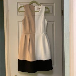 Color block DRESS (S) JB Julie Brown all occasions